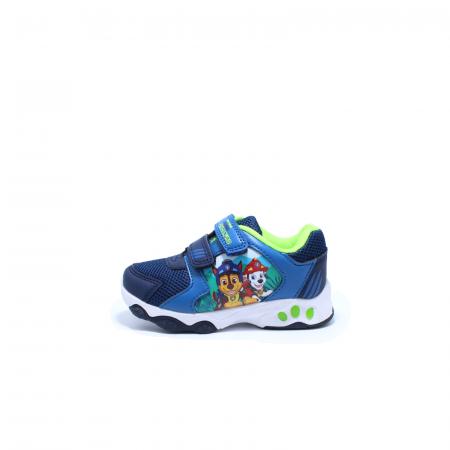 Pantofi sport cu luminite, Paw Patrol PAW7595, navy, 24-300