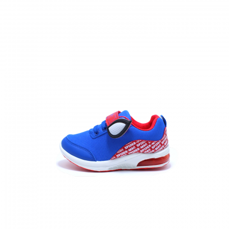Pantofi sport cu luminite, Spiderman SPM9435, rosu-albastru, 25-330