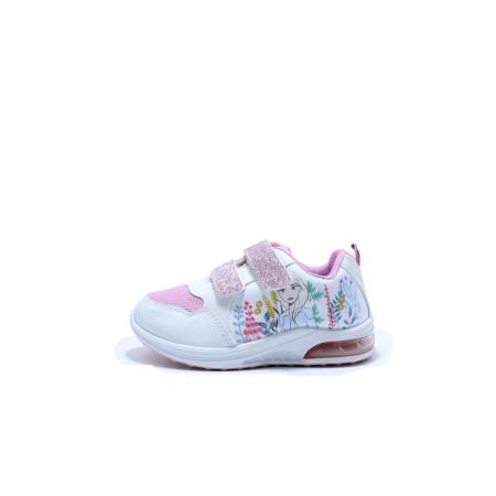 Pantofi sport cu luminite, Frozen FR2415, alb, 24-320