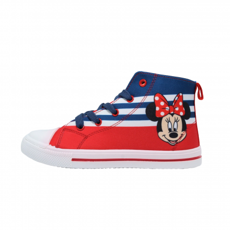 Tenisi cu licenta Disney Minnie Mouse rosu/navy marimi 25-320