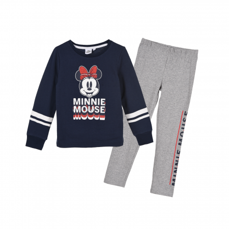 Trening Minnie Mouse, navy/alb, 3-8 ani0