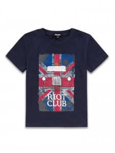 Tricou Riot Club UK  2-8 ani0