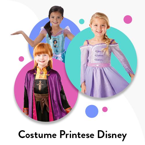 Costume Printese Disney