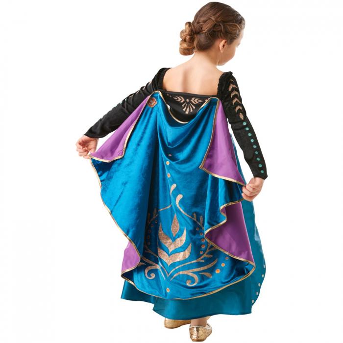 Costum Printesa Anna pentru fete - Epilogue Frozen II [2]