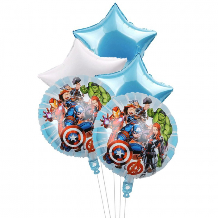 Buchet 5 baloane folie Avengers [0]