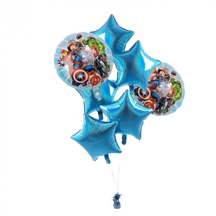 Buchet 7 baloane folie Avengers [0]