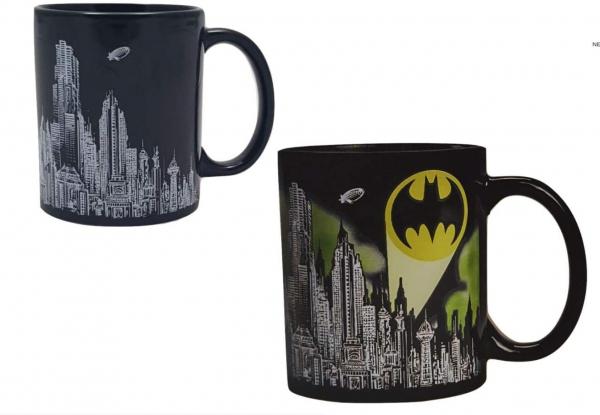 Set costum clasic  Batman, DC  Comics  pentru copii si cana termosensibila  Batman, M, 5 - 6 ani 2