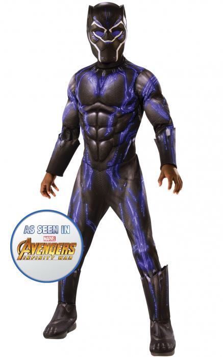 Costum cu muschi Black Panther pentru baiat - AVG4 BATTLE SUIT [1]