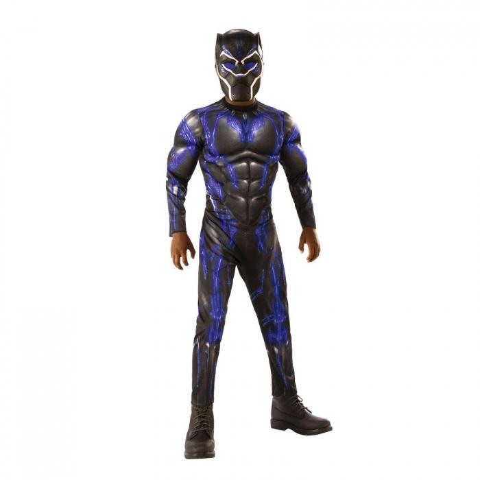Costum cu muschi Black Panther pentru baiat - AVG4 BATTLE SUIT [0]