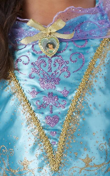 Costum Deluxe Printesa Jasmine pentru fete - Storyteller Jasmine [3]