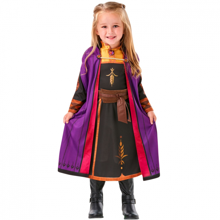 Costum Clasic Disney Printesa Anna pentru fete -  Frozen 2 [0]