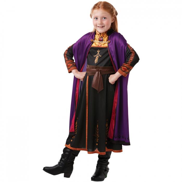 Costum Clasic Disney Printesa Anna pentru fete -  Frozen 2 [1]