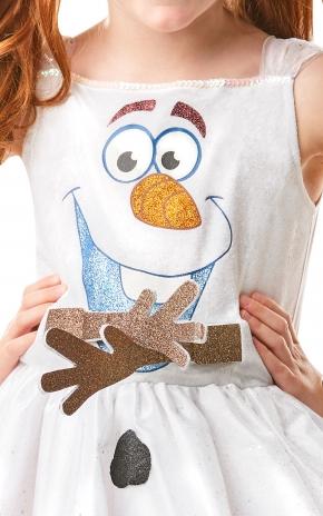 Costum Olaf Frozen pentru fete [2]