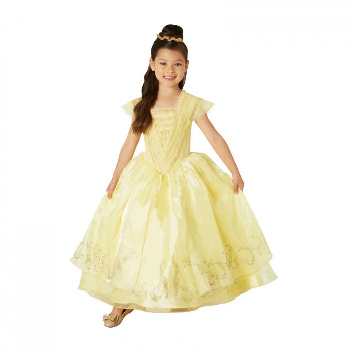 Costum Printesa Belle Premium pentru fete - Frumoasa si bestia [0]