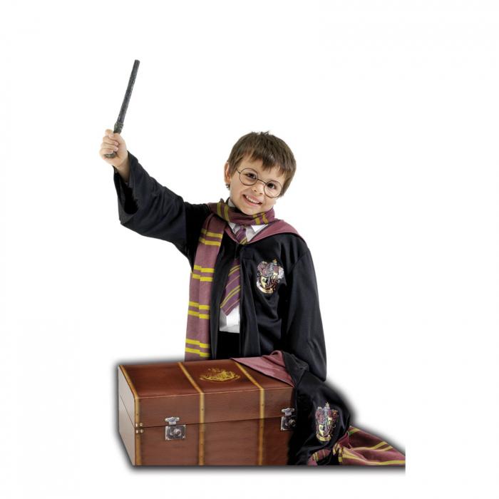 Set costum Harry Potter Deluxe cu cufar pentru copii [0]