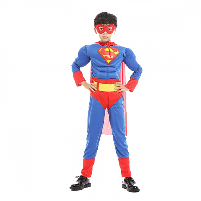 Costum cu muschi Superman pentru baieti [1]