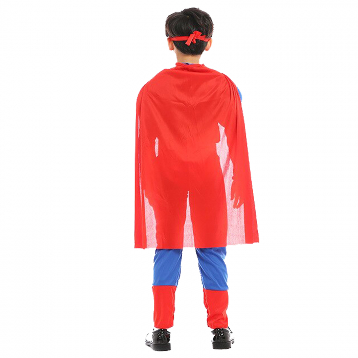 Costum cu muschi Superman pentru baieti [4]