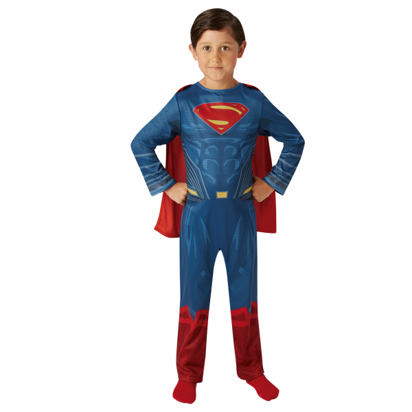 Costum Superman Justice League pentru copii, Rubie's , M, 5 - 6 ani 0