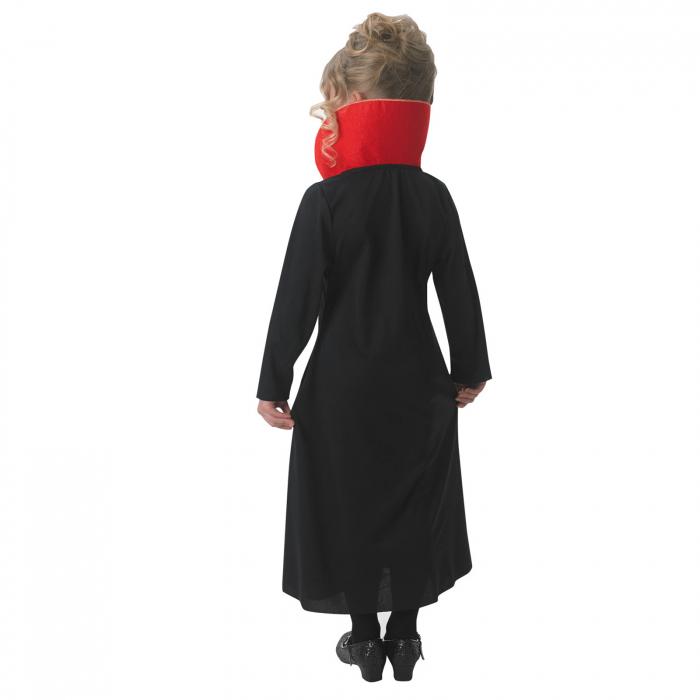 Costum Vampirita pentru copii , Glitter  Vampiress, Rubie's, 3 - 4 ani 1