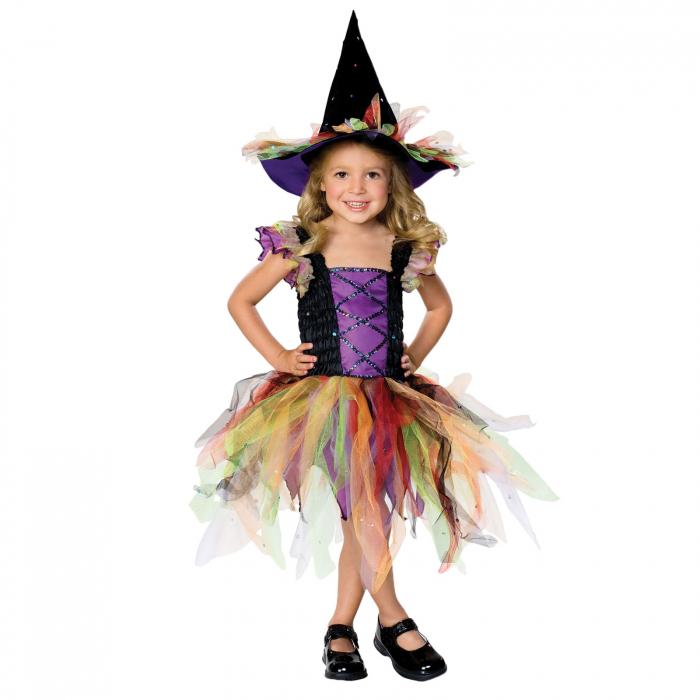 Costum Vrajitoare pentru fete [0]