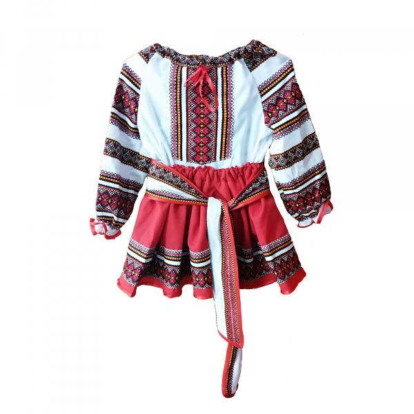 Costumas-Rochita populara, motiv traditional, varsta 10 ani [0]