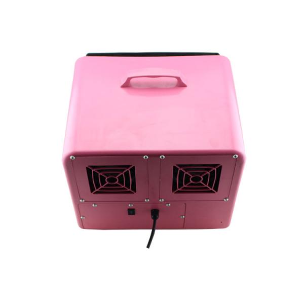 Masina de facut baloane, 100w, capacitate 2.5L, roz, cu telecomanda, lichid cadou [5]