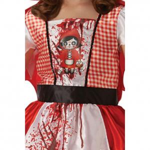 Costum de carnaval copii, Scufita Rosie, 6 - 8 ani [1]