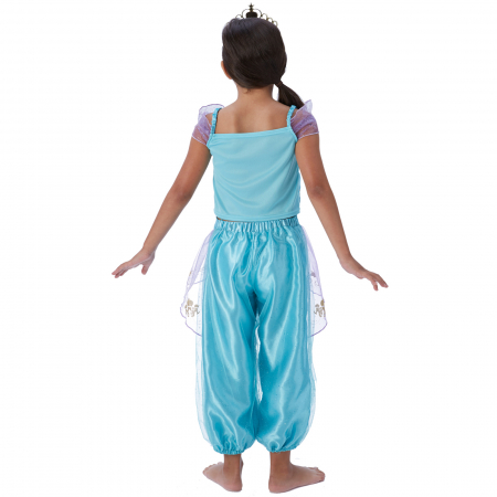 Costum Deluxe Printesa Jasmine pentru fete - Storyteller Jasmine [2]