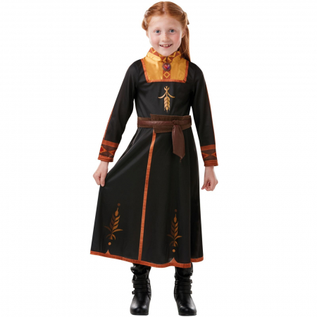 Costum Clasic Disney Printesa Anna pentru fete -  Frozen 2 [2]