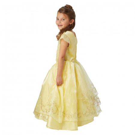 Costum Printesa Belle Premium pentru fete - Frumoasa si bestia [1]