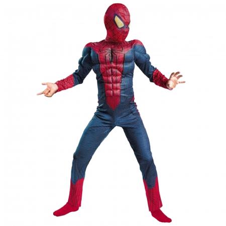 Costum Spiderman cu muschi  Infinity War  pentru copii, M, 5 - 7 ani [0]