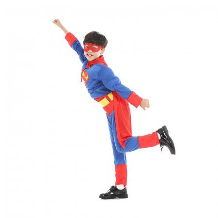 Costum cu muschi Superman pentru baieti [3]
