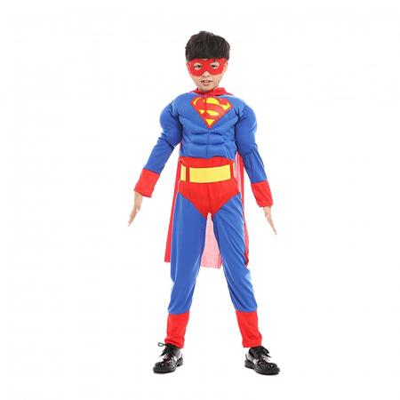 Costum cu muschi Superman pentru baieti [0]