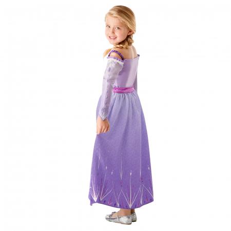Set costum Disney Printesa Elsa si amuleta magica muzicala, Regatul de gheață 2, Frozen 2, marime M, 5 - 6 ani [3]