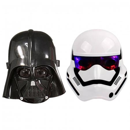 Set doua masti Star Wars pentru copii, plastic, marimi universale [0]