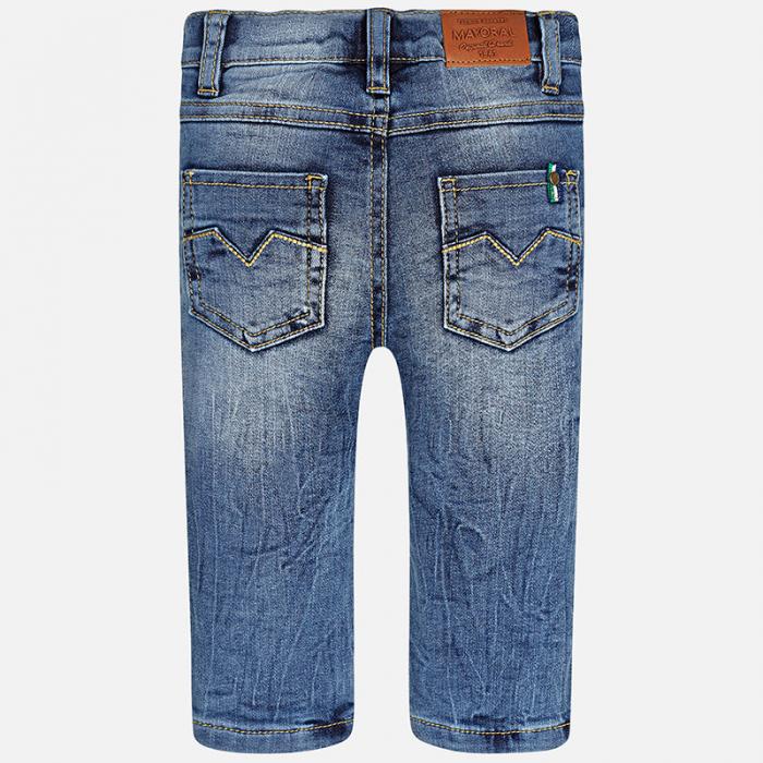 Pantalon denim captusit baieti ,albastru 1