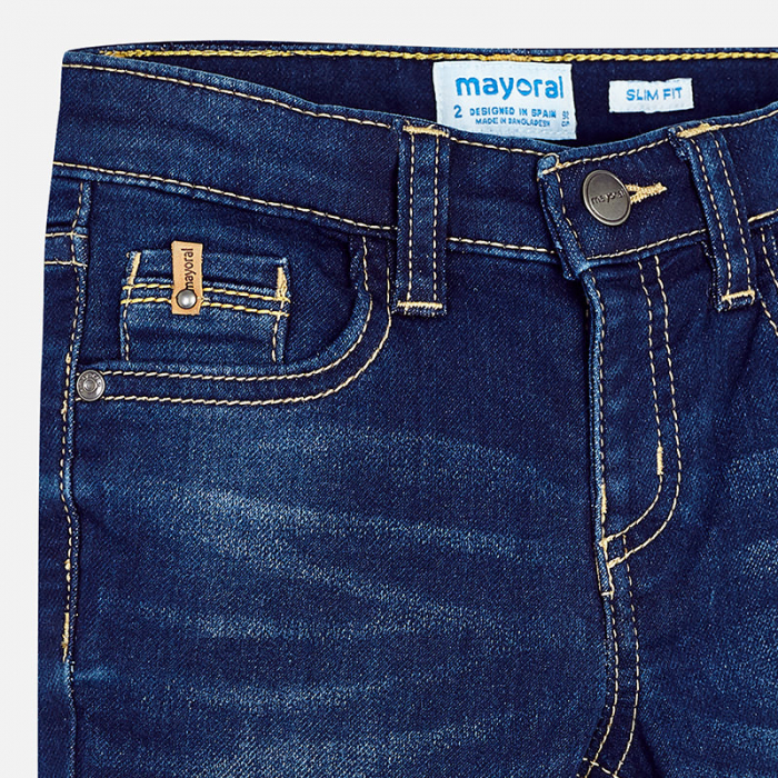 Mayoral blugi baieti, slim fit, denim 2