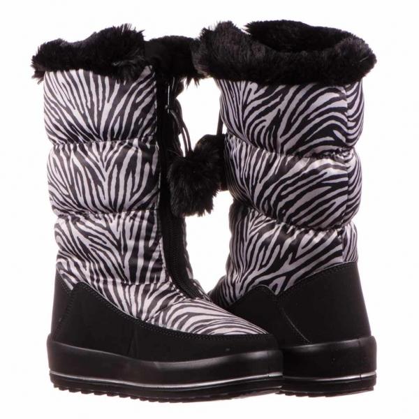 Apreschi zapada fete Ciciban, imprimeu zebra 2