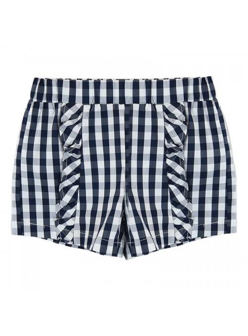 Babybol Set 3 piese fete tricou & pantalon scurt& bandana, navy 4