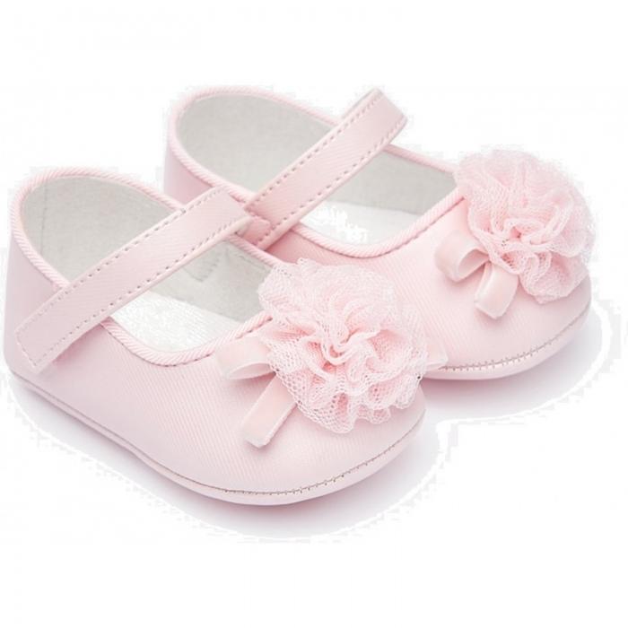 Balerini roz fetita nou nascut, roz, Mayoral 0