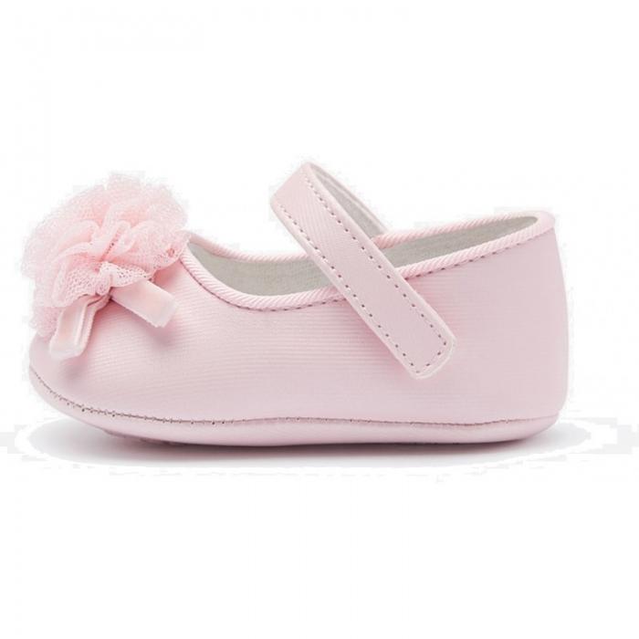 Balerini roz fetita nou nascut, roz, Mayoral 1
