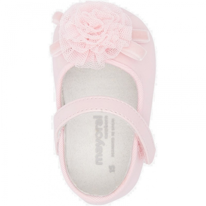 Balerini roz fetita nou nascut, roz, Mayoral 2