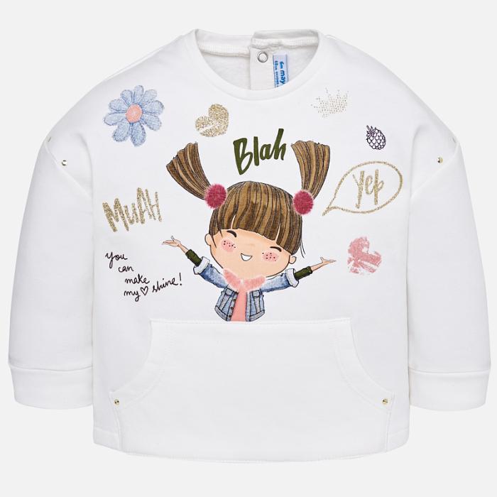 Bluza bumbac fetite, design vesel, Mayoral [0]
