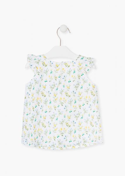 Bluza fete imprimeu flori galbene, Losan 1