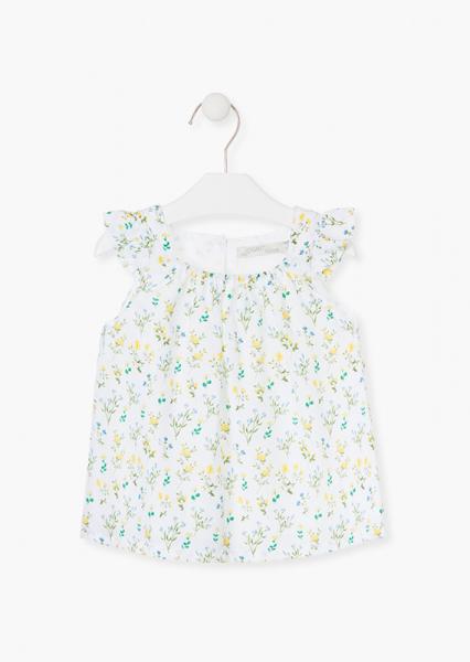 Bluza fete imprimeu flori galbene, Losan 0