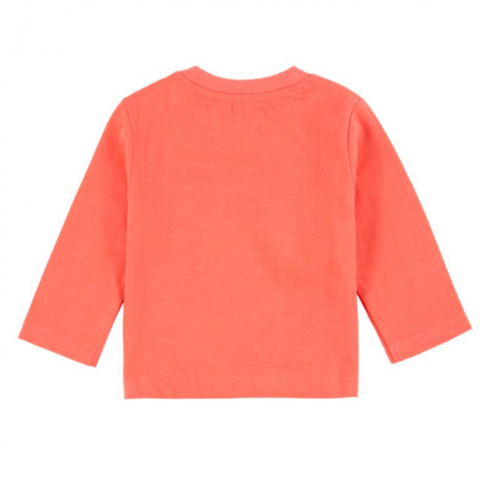 Boboli Tricou cu maneca lunga baiat , orange 1