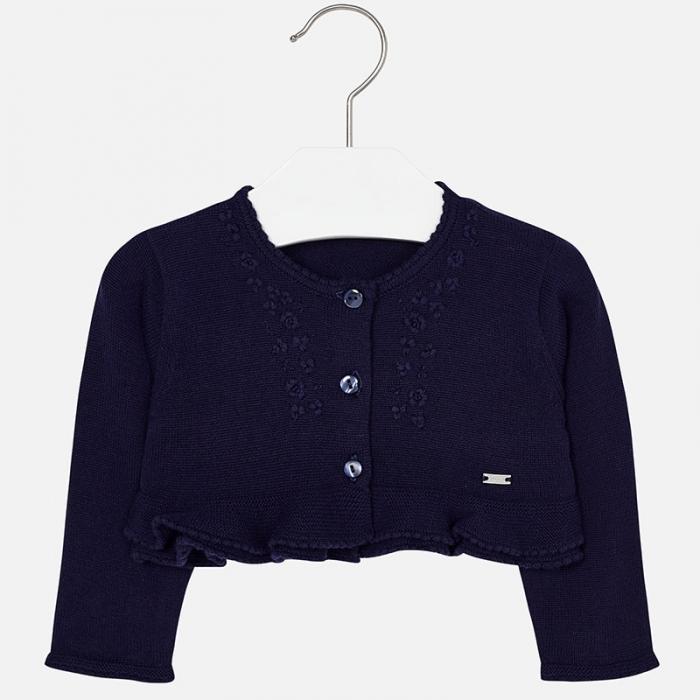 Bolero tricot fete Mayoral, navy 0