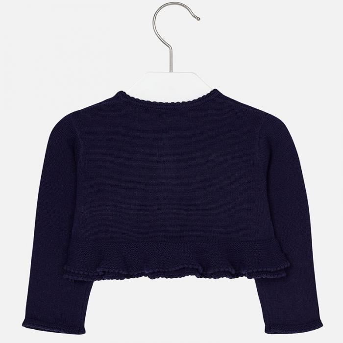 Bolero tricot fete Mayoral, navy 1