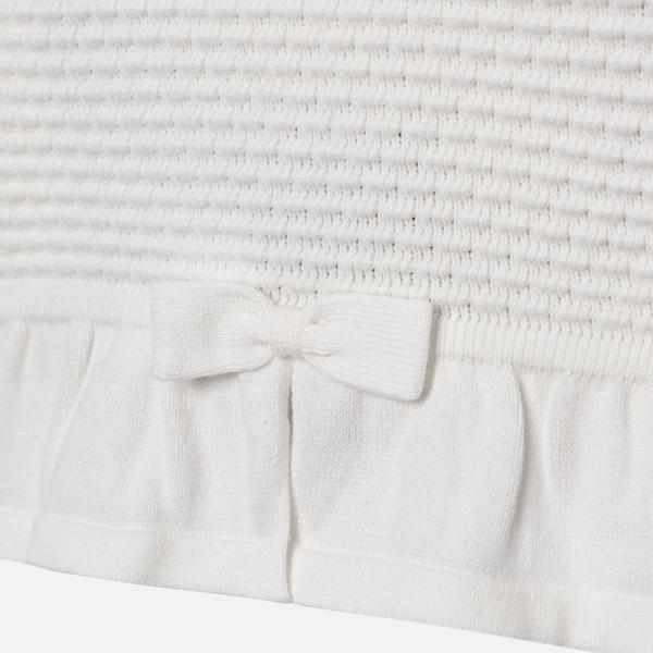 Bolero tricotat fete Mayoral ivoire 2