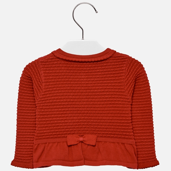 Bolero tricotat fete Mayoral rosu 1